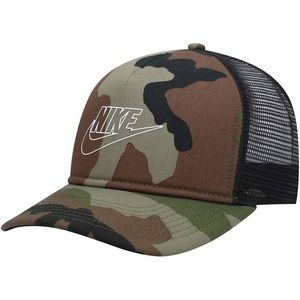 Nike NSW Classic99 Snapback Camouflage Trucker Hat